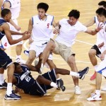 MUST SEE: Georgetown Hoyas Brawl with Bayi Rockets (China) During Tour