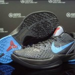 Nike Zoom Kobe VI Dark Grey/Blue-Chilling Red (aka DARK KNIGHTS)