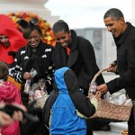 Trick-or-Treat with President Obama and the First Lady (Video)