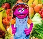 "Sesame Street's aim to end Hunger with ""Lily"" via (@eldorado2452)"