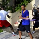 Lebron (@KingJames) & Wade (@DwyaneWade) Work Out in Miami During The Lockout (Video)