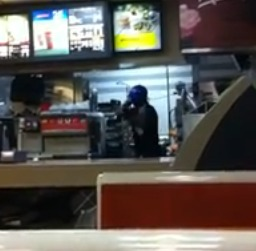 Customer Slaps A McDonalds Cashier Who Happens To Be An Ex-Con, Then … (Video)