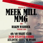 Meek Mill (@MeekMill) X @iDENTiTYiNK #Powerhouse After Party (40/40 AC) Pictures
