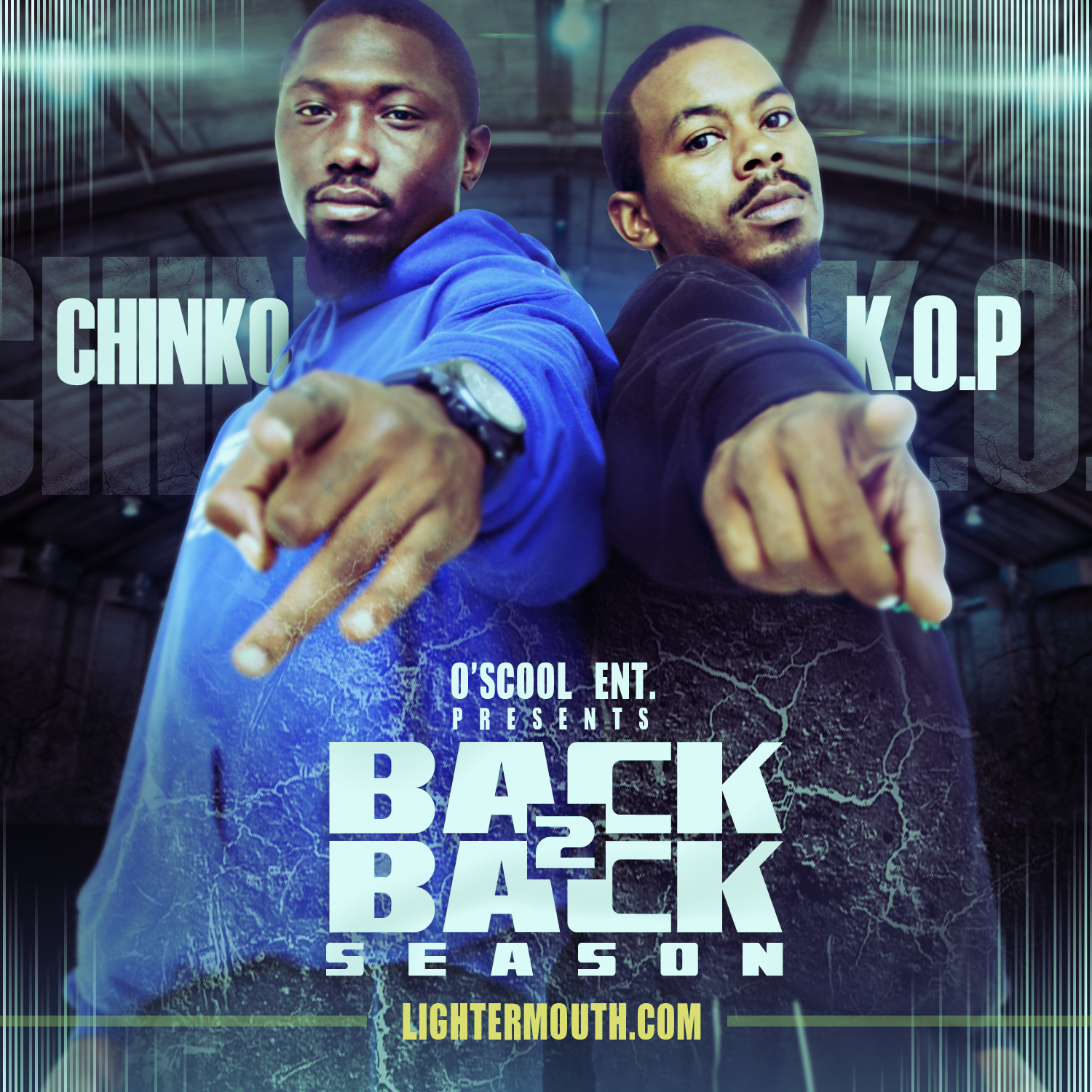 Chinko (@Chinkdagreat) & K.O.P. – Back 2 Back Season (In-store Signing 11/6/11 @215 Swag)