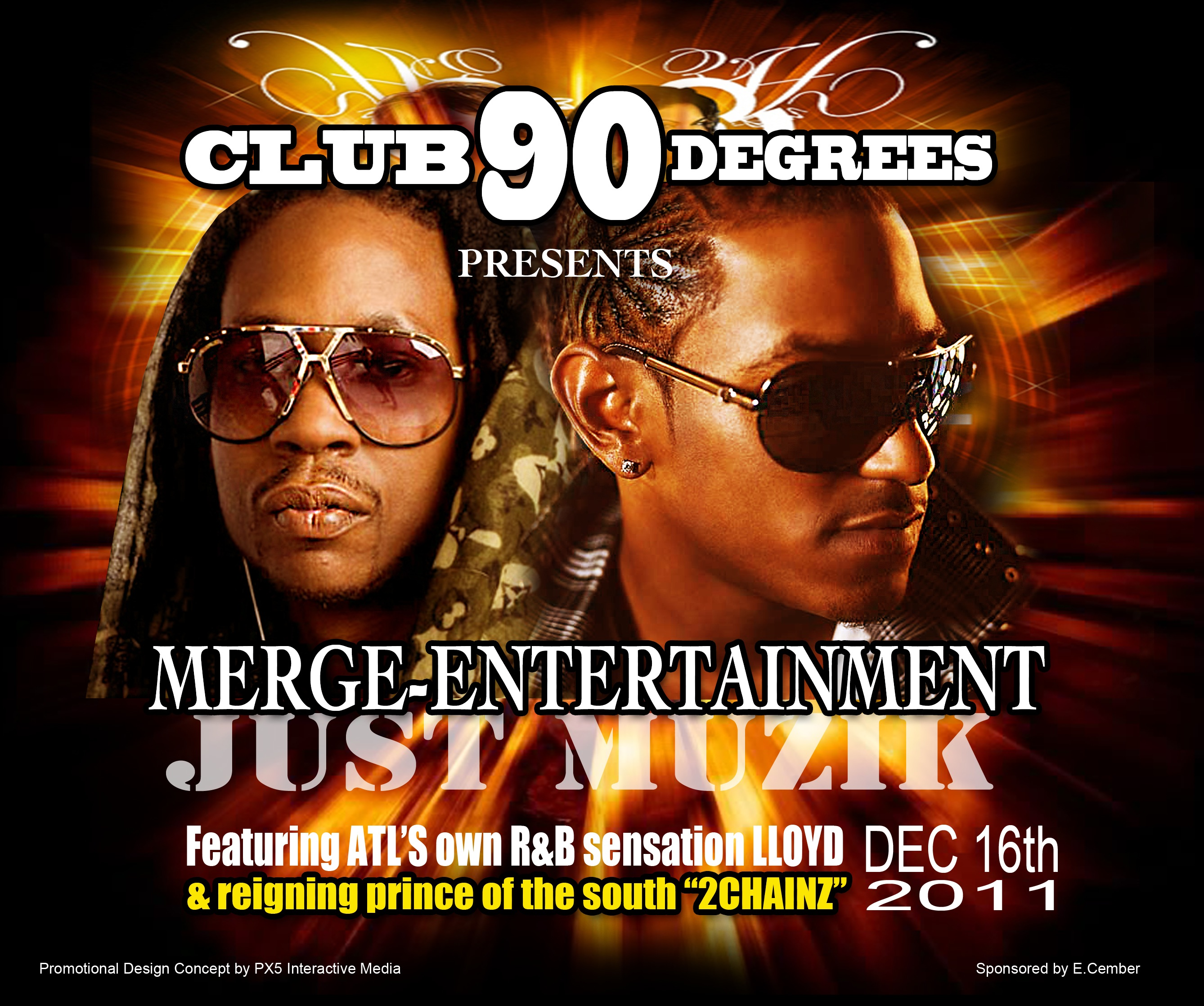 Celebrities Support & Shout Out @CuzinE215 #Ecember2K11 Events Ft @2Chainz @Lloyd_YG & More (Video)