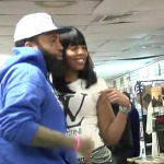 Tone Trump & Straight Stunnin Model Crystal Bates visit Black N Nobel in Philly (Video)