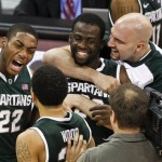 Spartans win off an Overtime Call