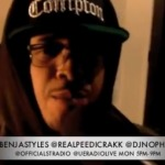 Peedi Crakk (@RealPeediCrakk) – @OfficialStRadio Freestyle W @BenjaStyles & @DJNoPhrillz (Video) http://hhs87.co/xS5qFo