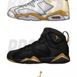 "Air Jordan 6 & 7 ""Gold Medal"" Pack Will Be Released August 2012"