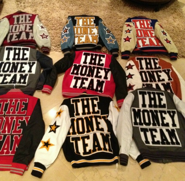 "money2-e1327532610910 50 Cent & Floyd Mayweather Have Released Official Jackets For ""The Money Team"""