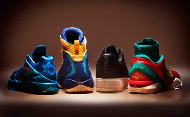 "Nike ""Year of the Dragon"" YOTD Pack (Durant's, Jordan's, AF1's & Kobe's)"