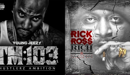 Which is Better? Young Jeezy's Thug Motivation 103 or Rick Ross' Rich Forever???