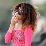 Rihanna Gets Caught Smoking Weed Again