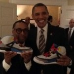 Barack Obama Receives Jordan Spiz'ikes Boredeaux From Spike Lee Himself
