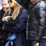 Beyoncé and Jay-Z Hit the Streets With Blue Ivy Carter (Photos Inside)