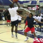 Kevin Hart (@KevinHart4real) Plays Ball w/ UCONN Women's Basketball Team (Video)