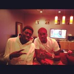 Meek Mill (@MeekMill) In The Studio With Travis Porter (@IAMTRAVISPORTER)
