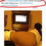 Knicks' J.R. Smith Fined $25K For TwitPic'n A Photo of Tahiry In A Thong