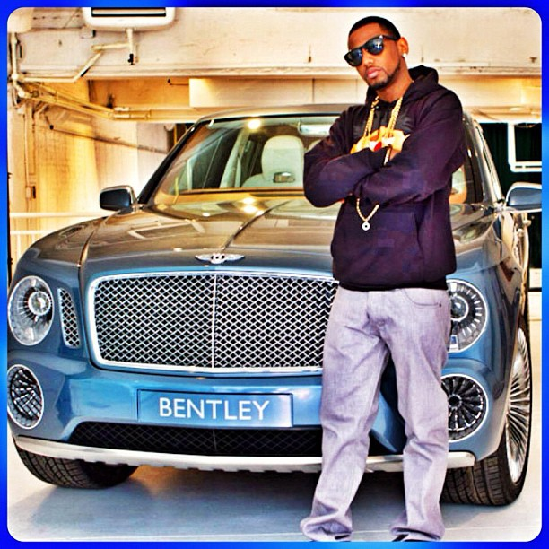 Fabolous (@MyFabolousLife) Checking Out The New Bentley