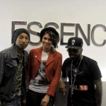 JD & Pharrell Introducing Leah Labelle In NYC To The Media (Video)