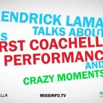 Kendrick Lamar Interview with Miss Info (Video)
