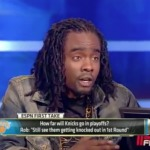 Wale vs Skip Bayless on ESPN First Take (They Debate About The Knicks) (Video)