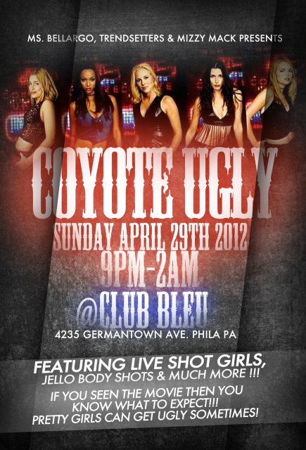 Coyote Ugly April 29th at @Club_BLEU (Photos)