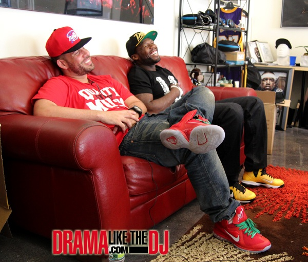 50 Cent & DJ Drama Talk About Philly Rap Scene They Mention Chic Raw, Quilly Millz, Joey Jihad & More (Video)