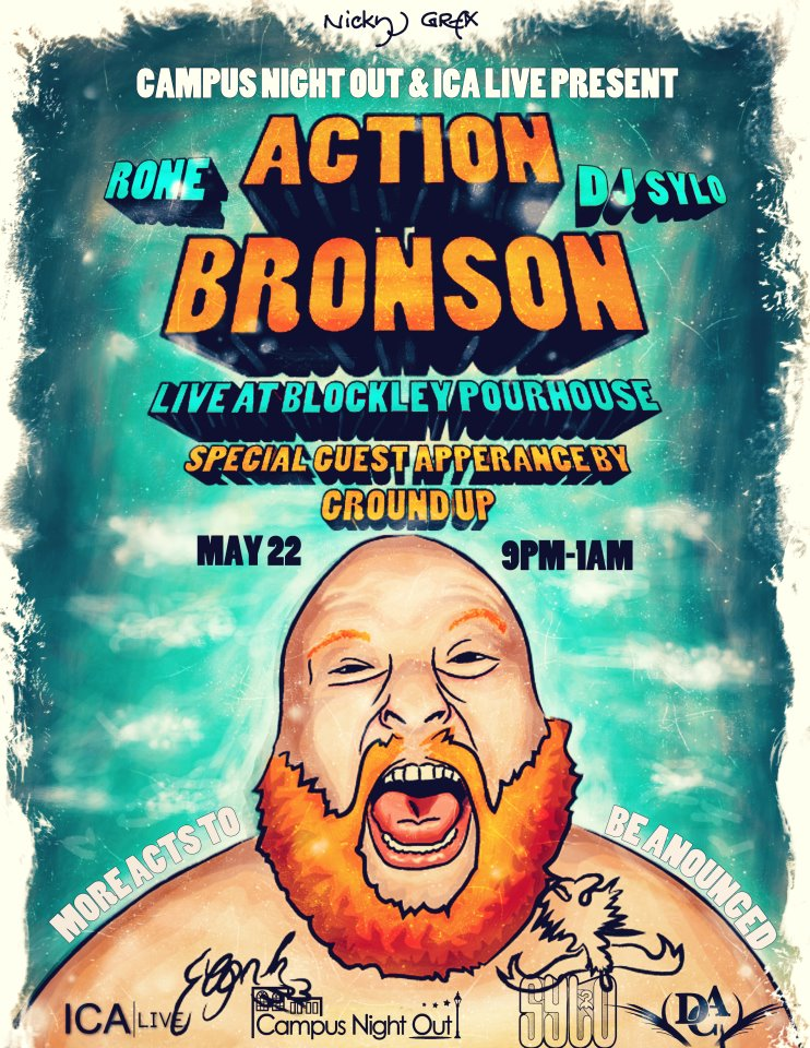 Enter To Win 2 Tickets To See Action Bronson (@ActionBronson) & Ground Up (@TheRealGroundUp) Perform May 22nd