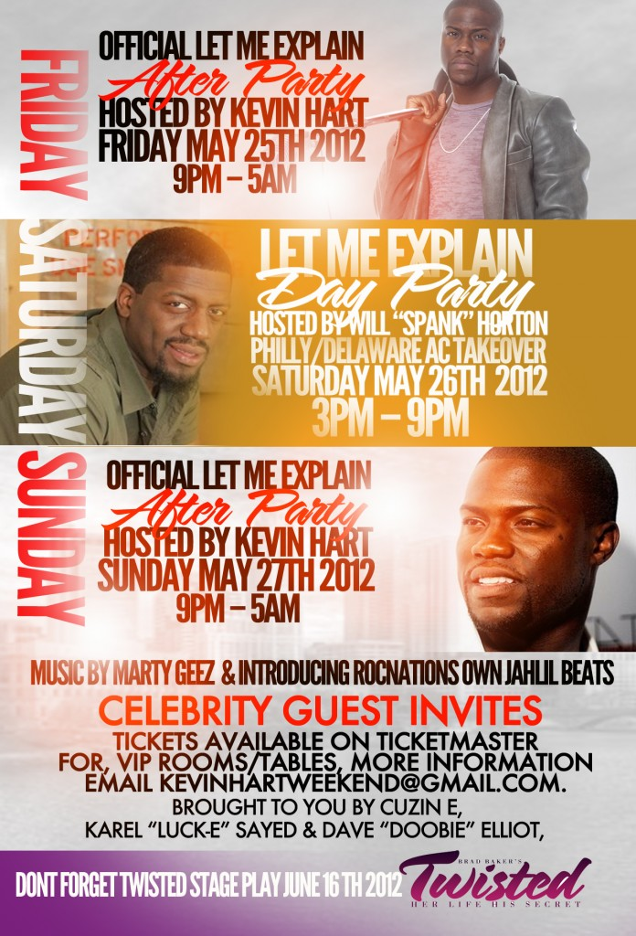Kevin Hart Memorial Day Weekend May 25th 40/40 (PHOTOS)