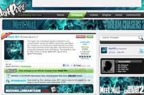 "Meek Mill ""Dreamchasers 2"" Has Over 1.7 Million Downloads In Less Than 6 Hours!!! #DC2"