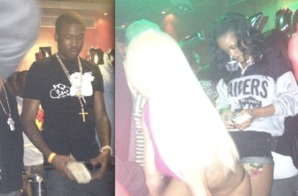 Rihanna and Meek Mill Hit The Strip Club Together??? (Are They Dating or What???)