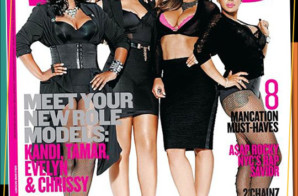 "Tamar Braxton, Evelyn Lozada, Kandi Burruss & Chrissy Lampkin cover Vibe's ""Role Model"" Magazine"