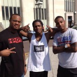 @ASVPxRocky, @TheRealDJDamage & @HipHopSince1987.com Chilling In Philly (6/25/12) (Photos)