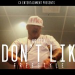 Krutch (@KrutchC4) – I Dont Like Freestyle (In-Studio Video)