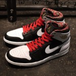"Jordan's World Basketball Festival Pack: Air Jordan 1 ""Las Vegas"" via @eldorado2452"