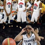 Basketball Reminder! Tony Parker (France) vs Team USA today at 9:30am on NBC