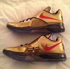 "Nike Zoom KD IV ""Gold"" Set For August Release via @eldorado2452"