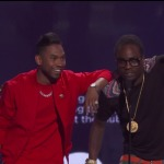 Wale & Miguel Wins Best Collaboration at the 2012 BET Awards