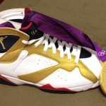 Chris Paul's Air Jordan 7 Gold Medal Gift
