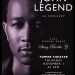 EVENT: John Legend Live at the Tower Theater (November 1st)