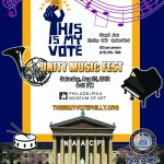 EVENT: NAACP's This Is MY Vote Unity Music Fest on August 25th (@ThisIsMyVotePHL)