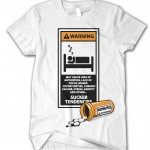 SI4S (@SleepIs4Suckers) Sleeping Pills Tee (Black & White)