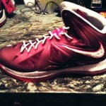 Nike Lebron X Red/White Preview