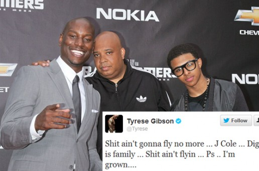 Tyrese Gets At J. Cole On Twitter For Taking Shots At Diggy