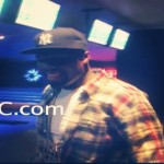 50 Cent (@50Cent) Rocks Gunplay's MMG Chain while Bowling in DC (Video)