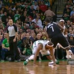 Joe Johnson Shakes Paul Pierce (Video)