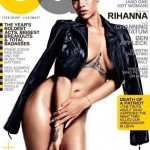 Rihanna Covers GQ Magazine With JUST A LEATHER JACKET ON (NSFW)