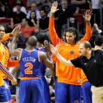 Melo-less Knicks Beat Miami Again: Does This Spell T-R-O-U-B-L-E In South Beach ?