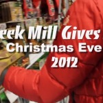 Meek Mill (@MeekMill) Gives Back on Christmas Eve (Video) (Shot by @Dru_Major)